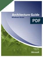 Windows Azure Architecture Guide