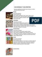 Tipos de Drogas y Sus Efectos
