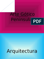 Arte Gótico Peninsular