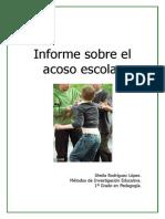 Informe sobre el acoso escolar
