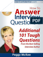 How to Answer Interview Questions - Peggy McKee