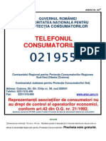 Placeta  obligatorie ANPC
