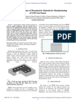 IAETSD-Review on Significance of Piezoelectric Mater