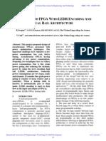 Iaetsd-A Design of Fpga With Ledr Encoding And