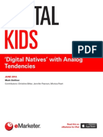EMarketer Digital Kids-Digital Natives With Analog Tendencies