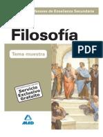 Tema 2 de oposiciones - La Función de La Filosofía en El Conjunto de La Cultura