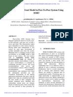 IAETSD-Organizing the Trust Model in Peer-To-Peer System Using.pdf