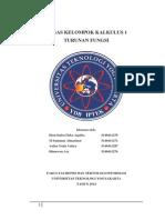 Tugas Kalkulus Teknik Informatika Semester 1