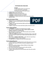 social studies unit 3 study guide