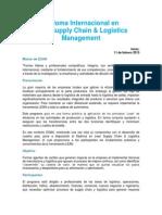 Folleto_Diploma Int. en Lean Supply Chain & Logistics Management 2015