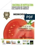 Memoria Produccion de Tomate Sept 2010