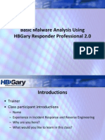 Malware-Analysis With HBgary Respender Profesional