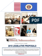 Council on Black Minnesotans 2015 Legislative Agenda