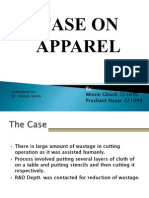 Apparel Industry Case Study