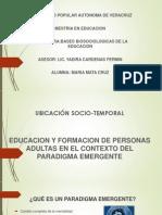 Educacion y Formacion de Personas Adultas