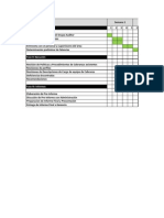 Planificacion estrategica de un programa de auditoria