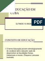 A Educação Em Cuba