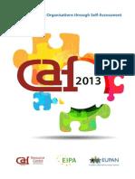 Self Assesment in Public Sector 2013