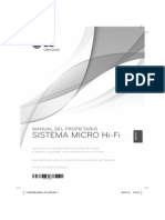 Manual Minicadena LG FA163