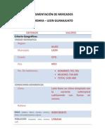 Formato de Segmentación de Mercados Bershka
