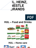HUL Heinz Nestle