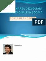 Prezentare Carte- gestionarea dezvoltării profesionale in scoala-