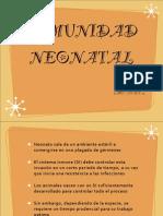 Inmunidad Neonatal 2013