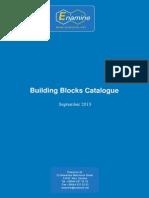 Building Blocks Catalogue