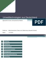 Umwelttechnologie Aus Deutschland - Theorieunternehmen