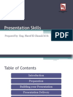 Presentation Skills Sherif