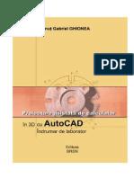 Autocad - Indrumar de Laborator