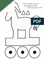 Trojan Horse PrintAble Craft