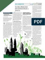 Reformulación del proceso de planificación estratégica en Valencia 2009-2020