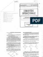 Cercetari Operationale Optimizari in Retele