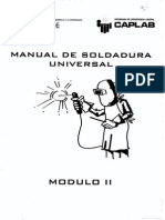 Manual de Soldadura Universal Modulo II