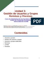 Unidad 3 Usuarios Grupos Permisos Procesos