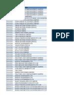 Sample Data Shiping port