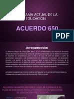 Acuerdo650 exposición