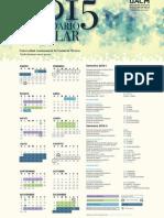 Calendario UACM 2015