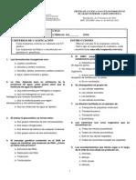 Examen Biologia Acceso Grado Superior Canarias 2011
