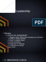Leadership 101 Part 11