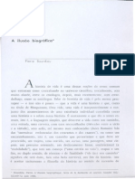 Bourdieu - A Ilusão Bibliográfica