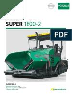 terminadora de asfalto vogele 1800-2