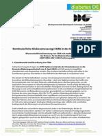 DDG Kontinuierliche Glukosemessung