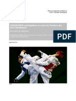 Sports Olympiques Taekwondo Fre