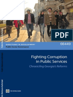 Fighting Corruption in Public Services - Chronicling Georgia's Reforms