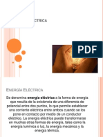 Aplicación de la energía eléctrica.