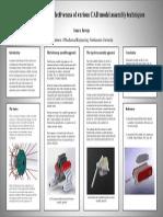 CAD Model AssemblyTechniques Investigation