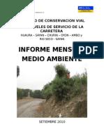 Informe 009-2010 - Setiembre Mtc-huaura - Med.amb