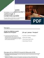 Generalidades Sobre Currículum y Lenguaje y Comunicación